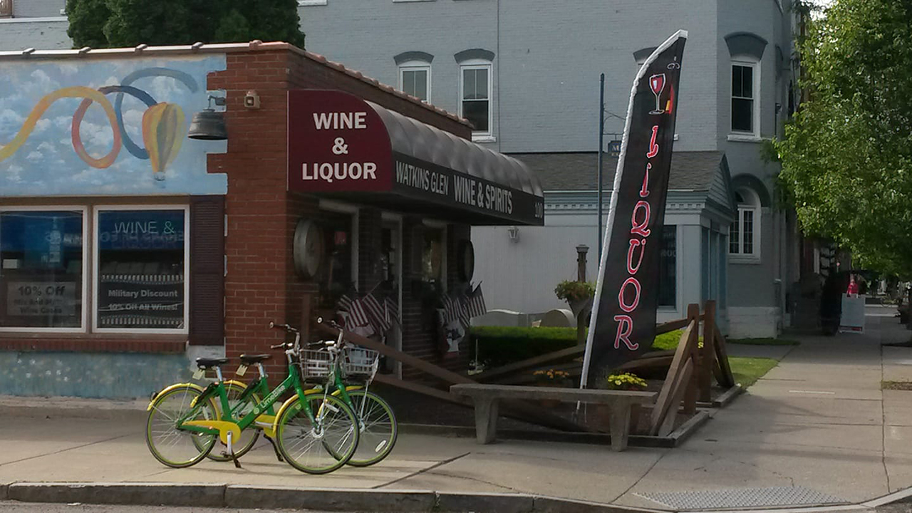 LimeBikes in Schuyler County (photo)