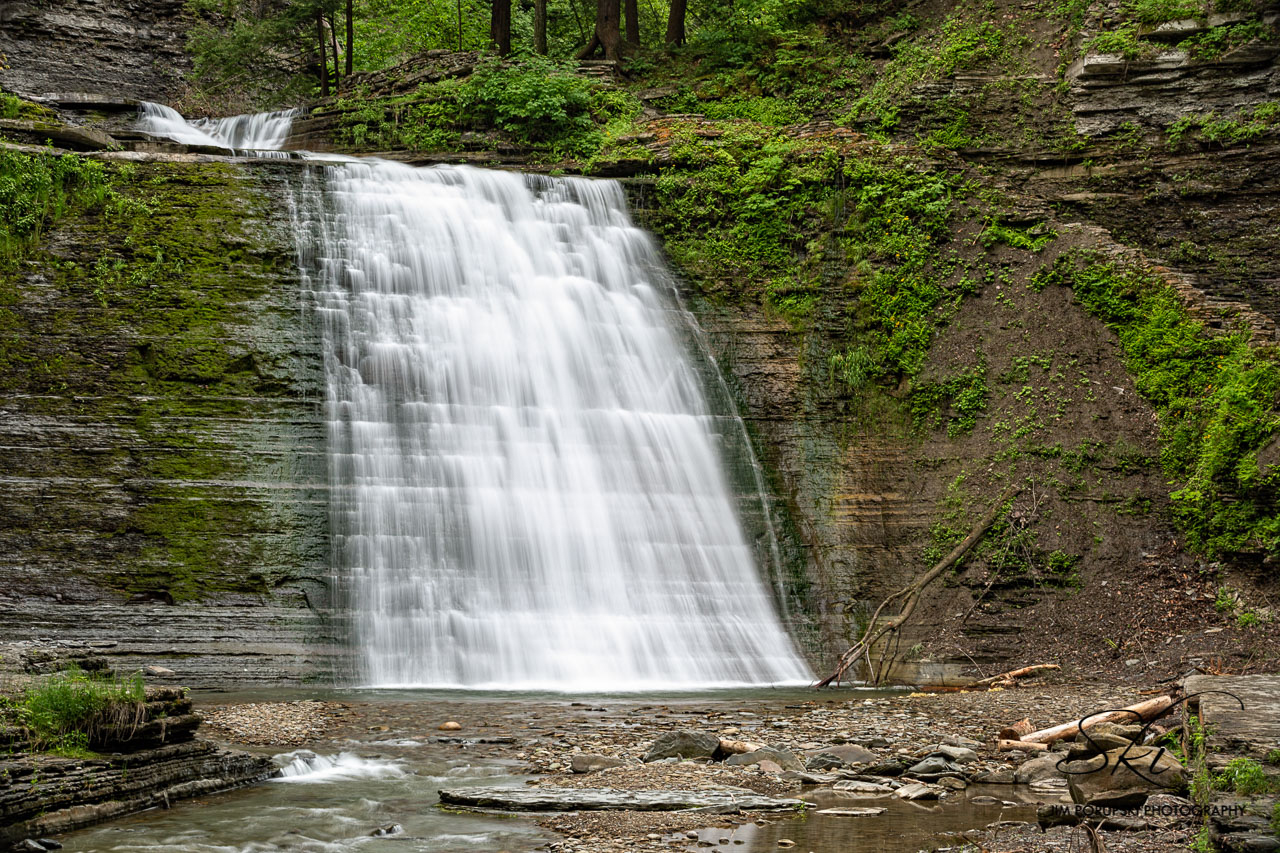 The Falls at Stony Brook State Park in Stueben County (photo)