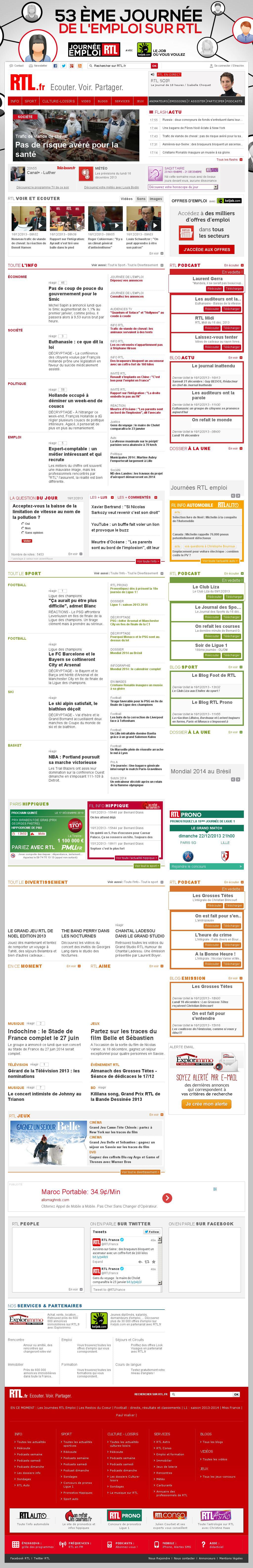 RTL at Monday Dec. 16, 2013, 5:14 p.m. UTC