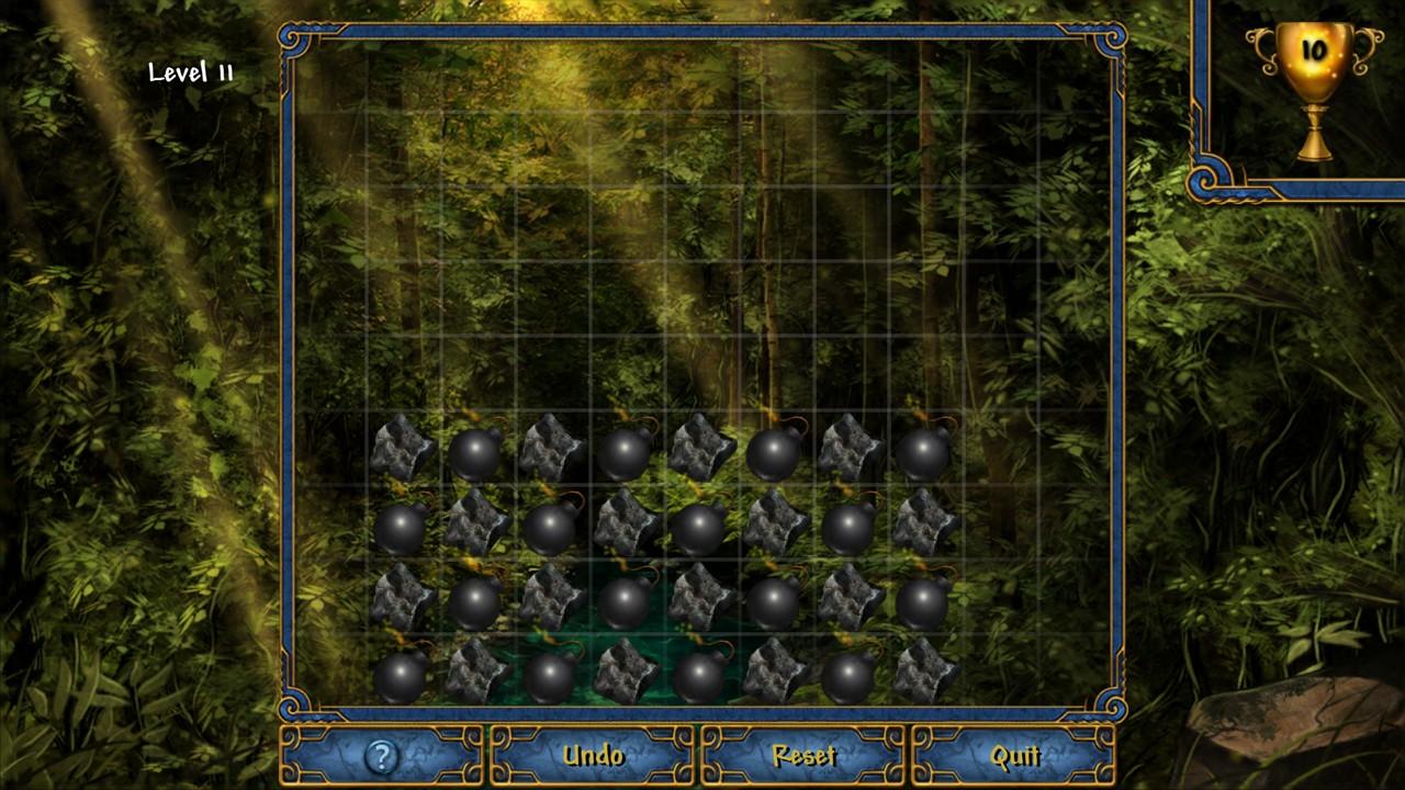 Screenshot of Experiment