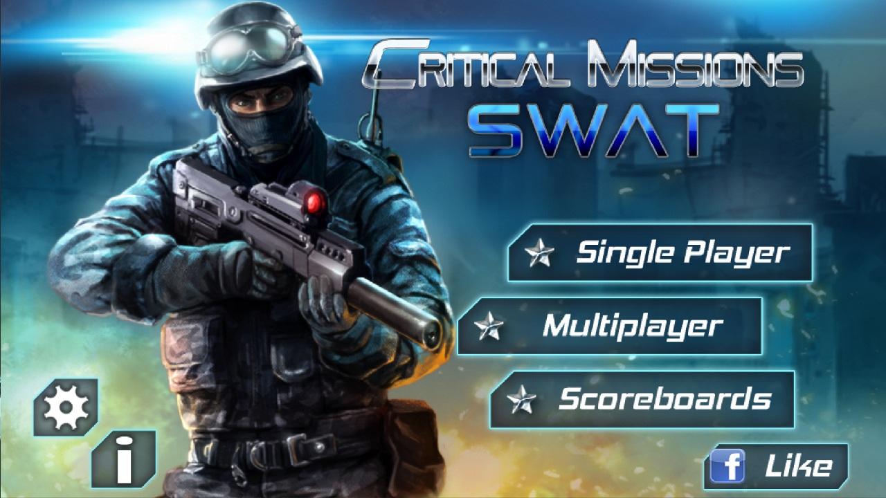 Screenshot of Critical Missions: SWAT Free