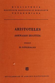 Cover of: Athenaion politeia | Aristotle