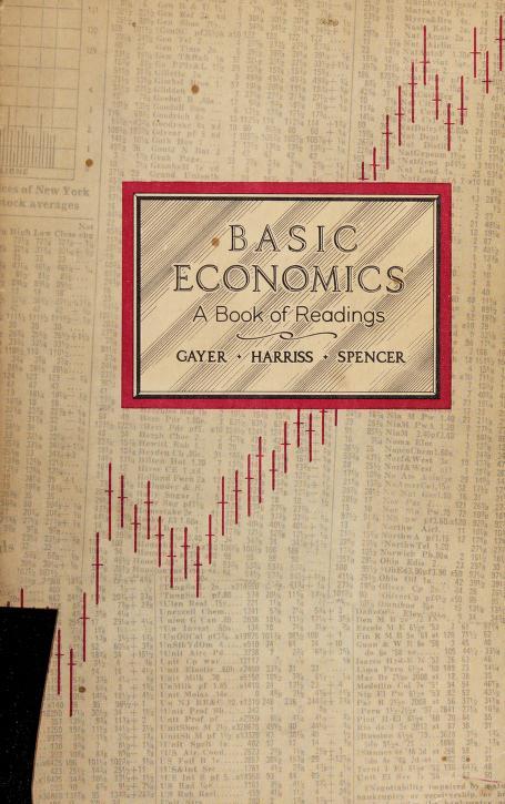 Basic economics by Gayer, Arthur D.