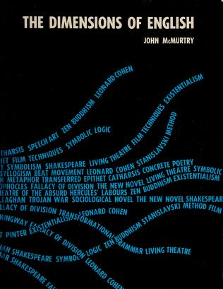 Cover of: The dimensions of English | John McMurtry