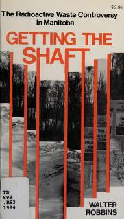 Cover of: Getting the shaft | Walter Robbins