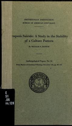 Cover of: Iroquois suicide   William Nelson Fenten