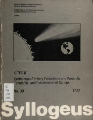 Cover of: K-TEC II, Cretaceous-Tertiary extinctions and possible terrestrial and extraterrestrial causes | K-TEC Group.