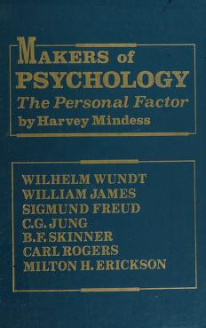 Cover of: Makers of psychology | Harvey Mindess