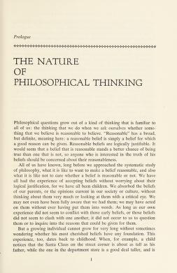 Cover of: Philosophical thinking | Beardsley, Monroe C.